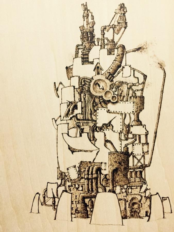 不器用な塔